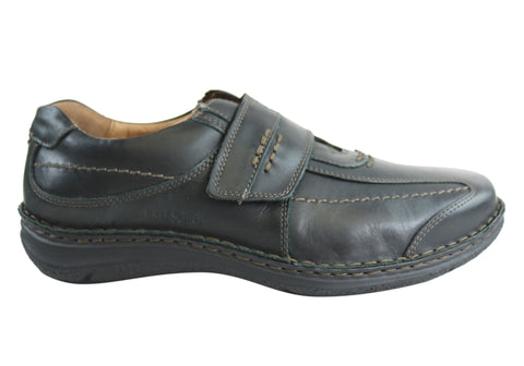 Josef Seibel Alec Mens Leather Wide Fit Comfort Shoes