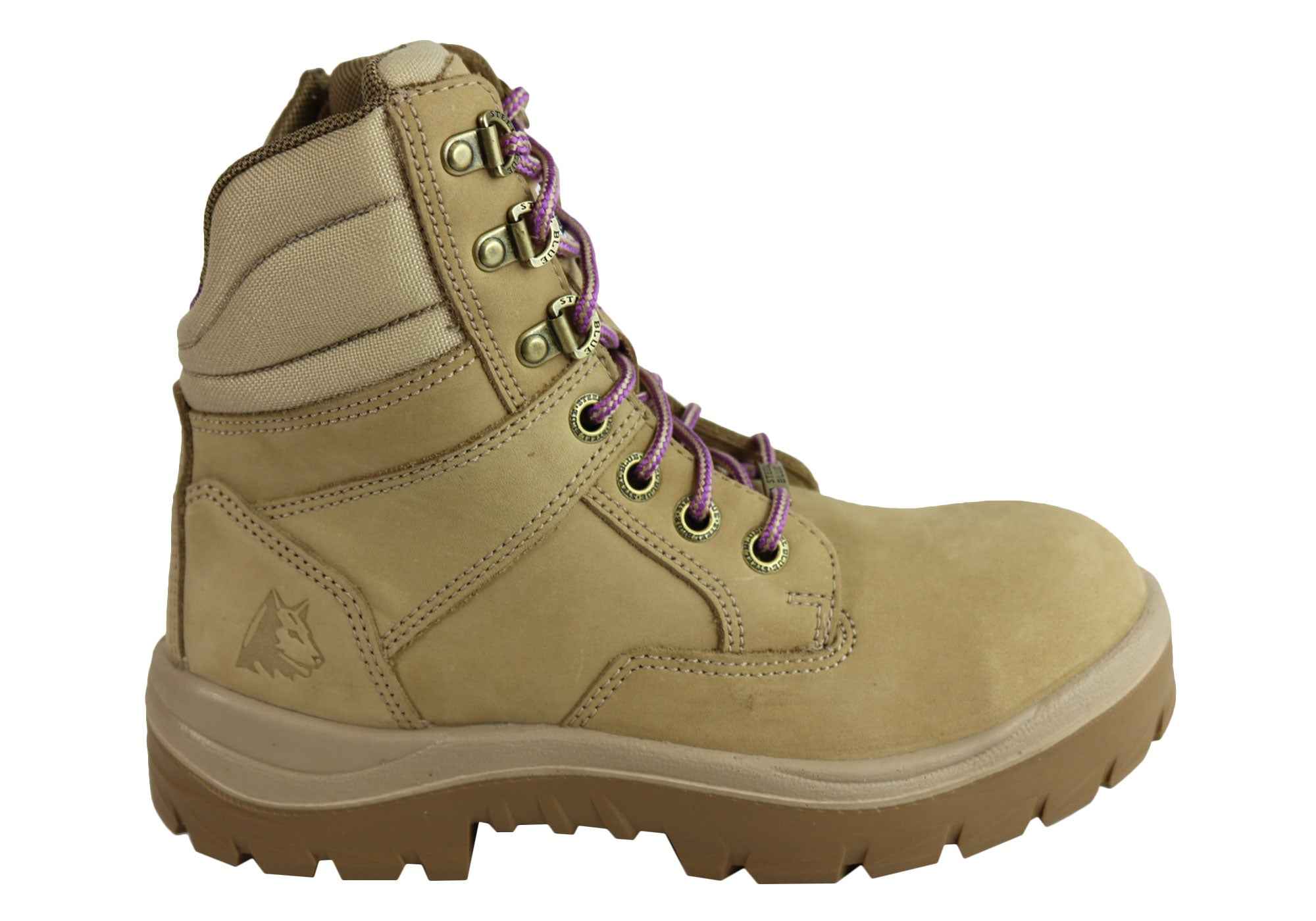 running shoes reliable reputation cheap Details about NEW STEEL BLUE WOMENS 522760 & 522761 SOUTHERN CROSS STEEL  TOE WORK BOOTS