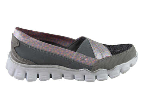 Skechers Skech Flex II Quipster Kids Memory Foam Shoes