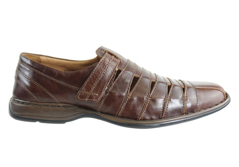 Josef Seibel Steven Mens Leather Comfort Shoes