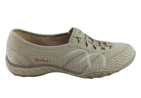 Skechers Breathe Easy Sweet Jam Womens Memory Foam Slip On Shoes