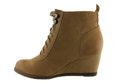 Hush Puppies Jade Womens Fashion Leather Ankle Boots