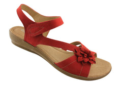 Hush Puppies Dallas Womens Leather Comfortable Sandals