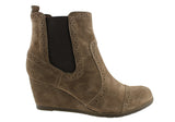 Hush Puppies Jamie Suede Womens Fashion Ankle Boots
