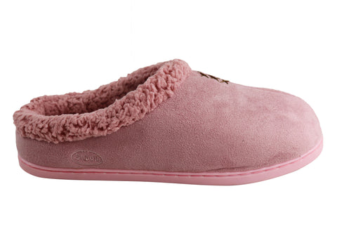 Scholl Orthaheel Softy Comfort Open Back Indoor Slipper