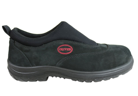 Oliver Men Comfortable 34610 Steel Toe Slip On Sports Shoe