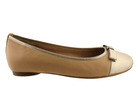 Hush Puppies Adison Womens Comfortable Ballet Flats