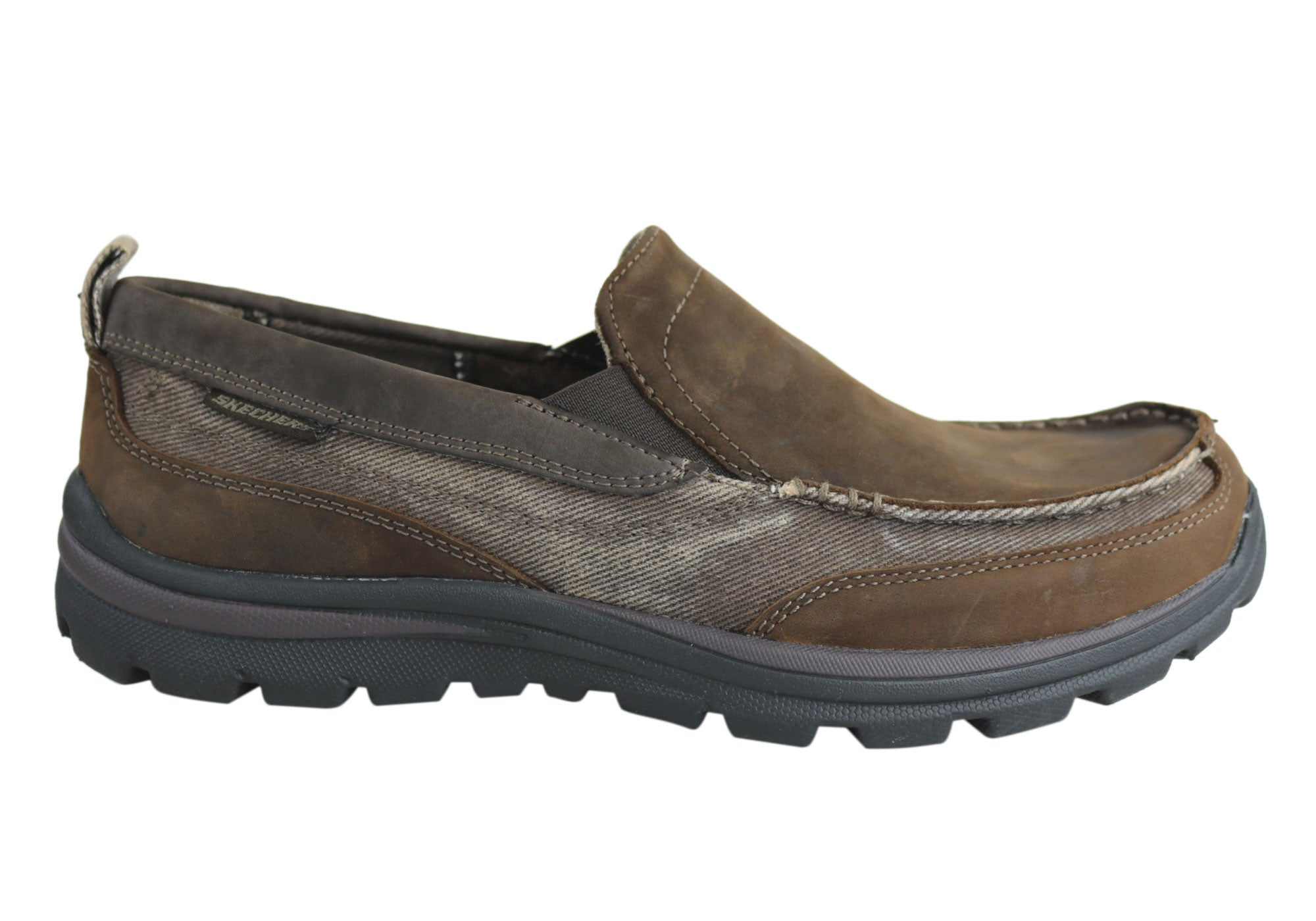 Skechers Superior Dimos Mens Slip On Casual Shoes