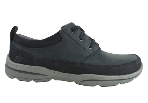 Skechers Harper Olney Mens Relaxed Fit Casual Lace Up Shoes