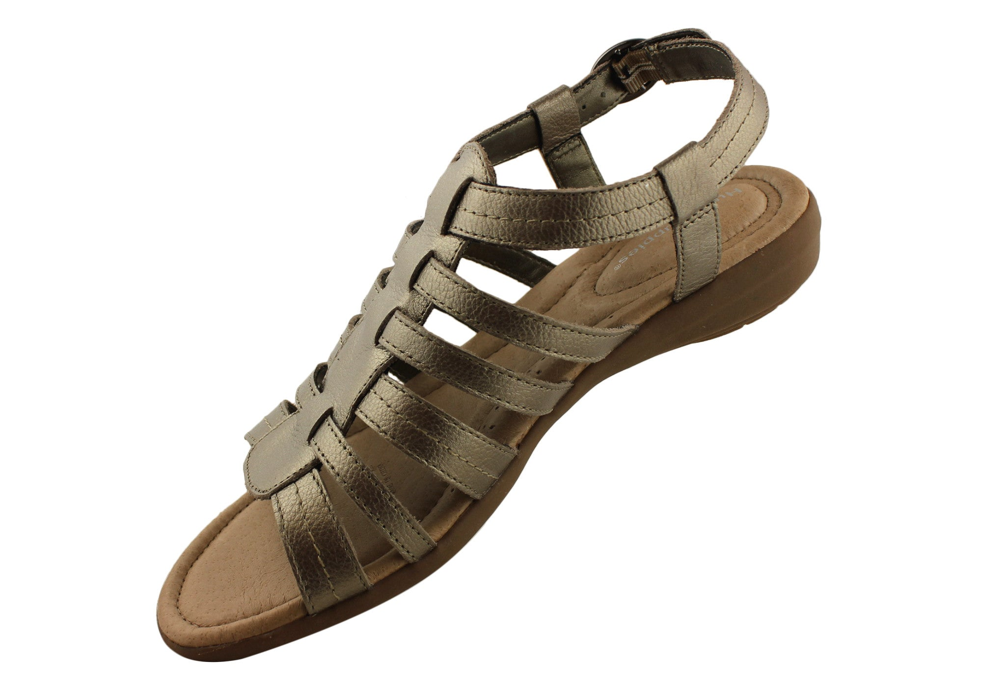 Hush Puppies Calisie Womens Leather Comfortable Sandals