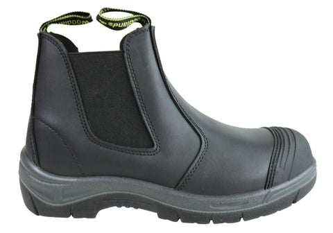 Woodlands New Foreman Mens Leather Steel Toe Work Boots