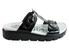 Alegria Vita Womens Comfortable Slides Sandals With Adjustable Straps
