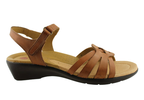 Planet Shoes Castle Womens Leather Comfortable Sandals