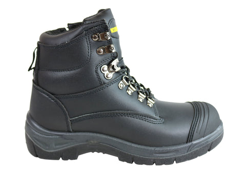 Woodlands New Darwin Mens Leather Steel Toe Work Boots