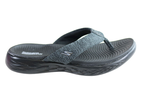Skechers Womens On The Go 600 Preferred Womens Comfy Thongs