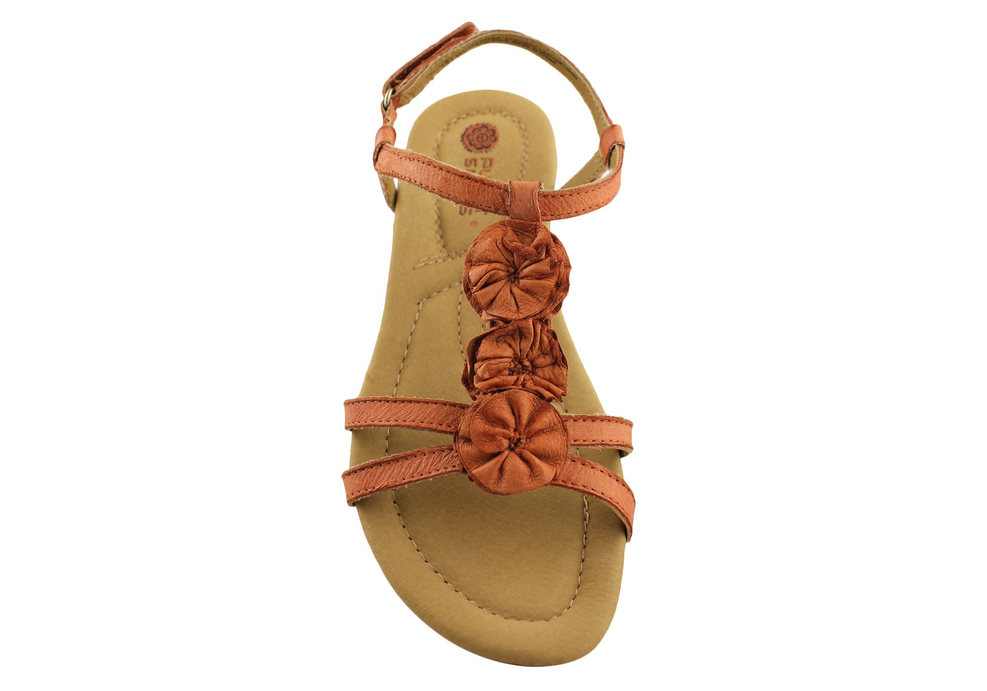 Planet Shoes Frilly Womens Leather Comfortable Sandals