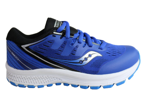 Saucony Kids Guide ISO 2 Comfortable Lace Up Athletic Sport Shoes