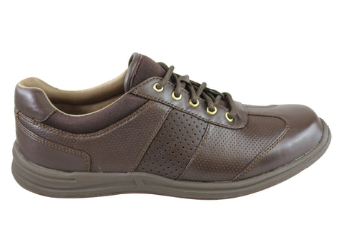 Rockport Walk Together T-Toe Womens Leather Lace Up Wide Fit Shoes