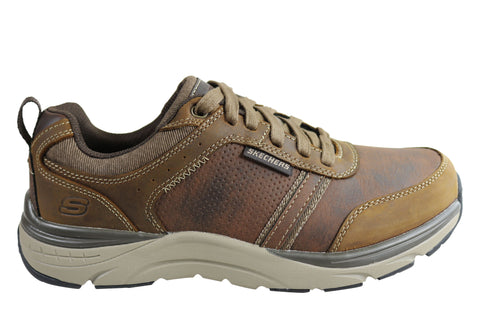 Skechers Mens Relaxed Fit Sentinal Lunder Memory Foam Shoes