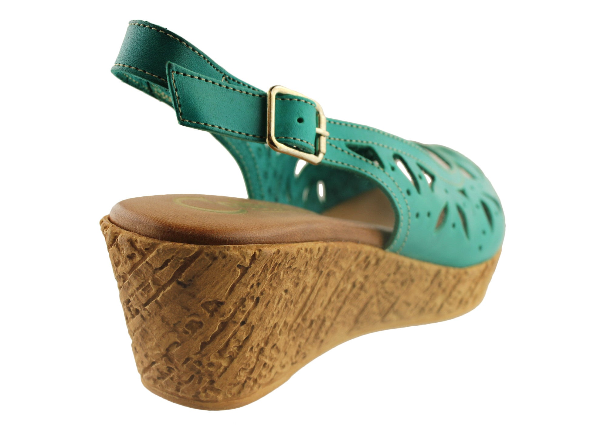 Cabello Comfort 3527 Womens Wedge Sandals Made in Spain