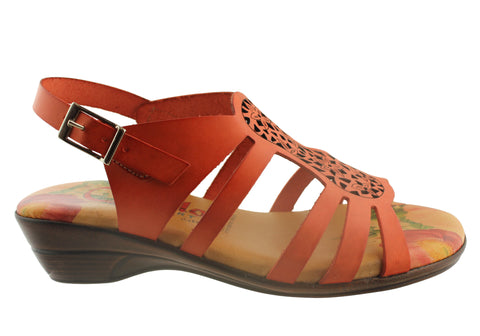 Cabello 606 Womens Leather Sandals Made In Spain