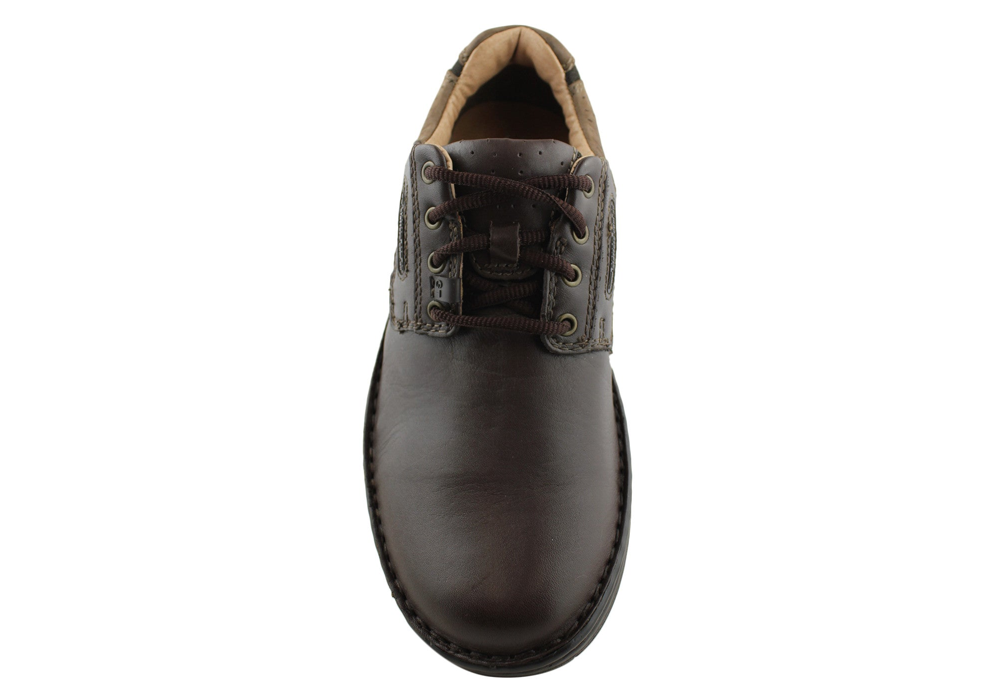 Slatters Capable Mens Leather Casual Lace Up Shoes