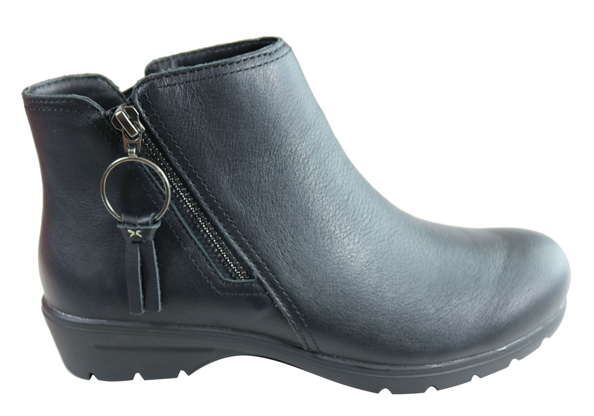 Skechers Womens Metronome Leather Ankle