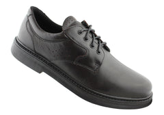 Slatters Pace Mens Leather Lace Up Comfort Shoes