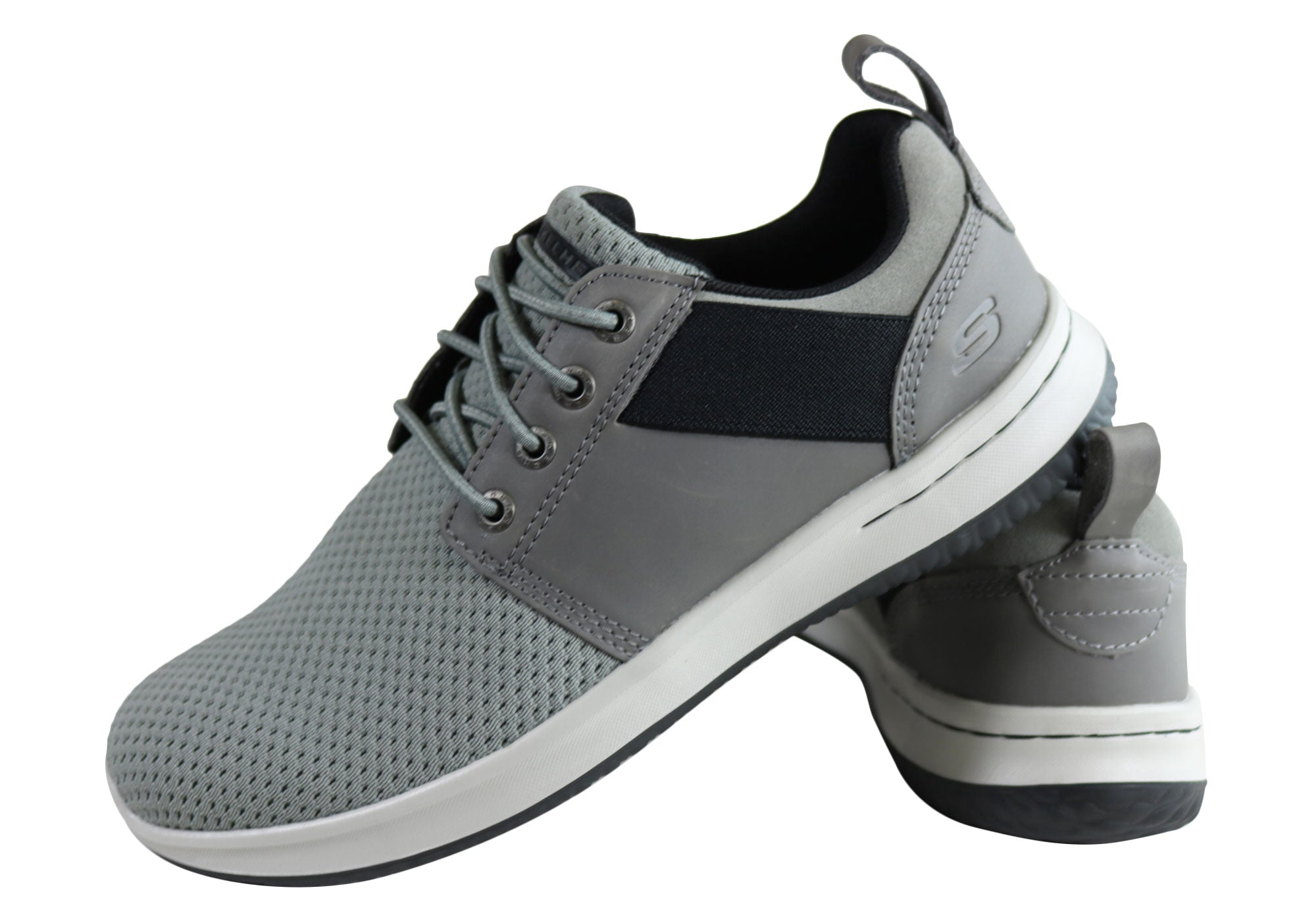 Skechers Mens Delson Brant Lace Up