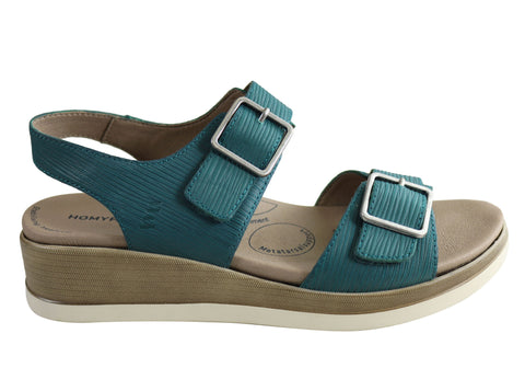 Homyped Maggie Womens Comfortable Supportive Leather Sandals