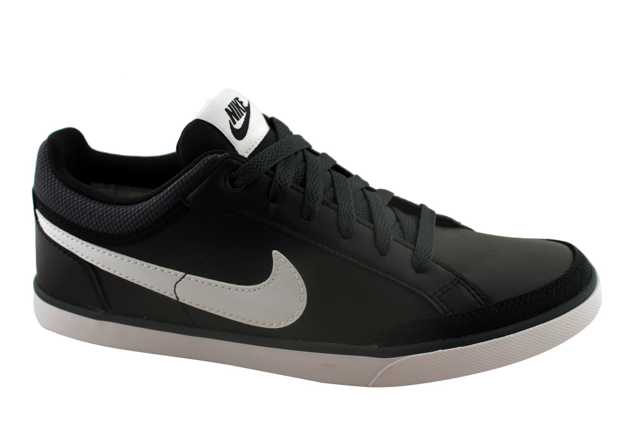 Nike Womens Capri III Leather Sneakers