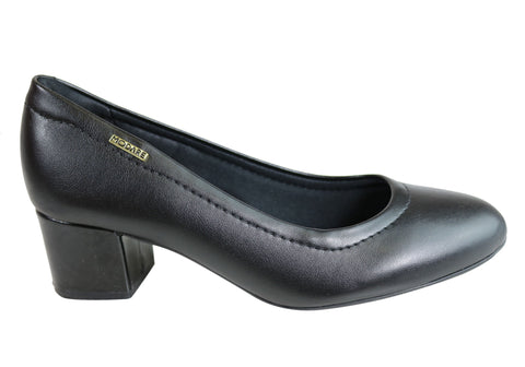 Modare Wynard Womens Comfortable Cushioned Low Block Heel Pumps Heels