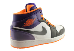 Nike Air Jordan 1 Mid Mens Basketball Shoes