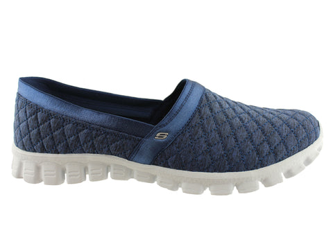 Skechers Ez Flex 2 Bankroll Womens Memory Foam Shoes