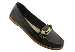 Gino Ventori Hickory Womens Soft Leather Casual Shoes