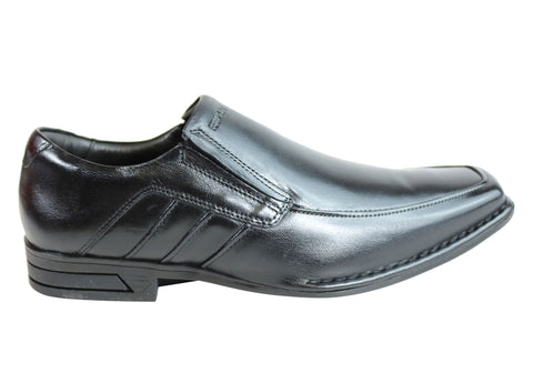 Ferracini Namo Mens Leather Slip On Dress Shoes Made In Brazil