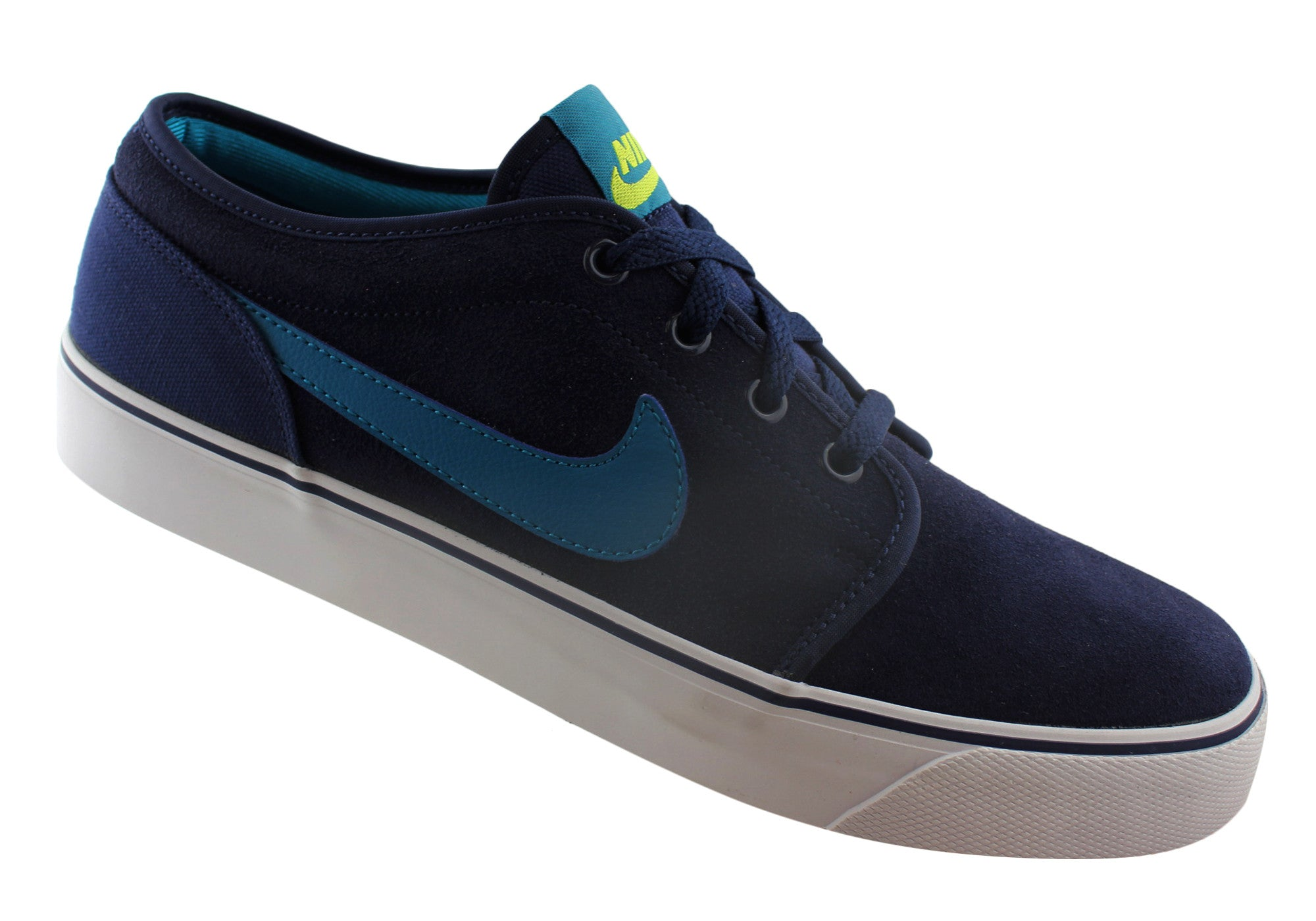 Nike Toki Leather Mens Lace Up Casual Shoes