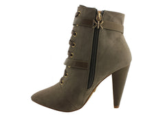 Kardashian Kollection Petra Womens Ankle Boots