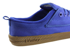 Volley International Mens Blue Lace Up Casual Shoes