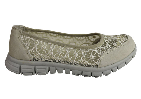 CC Resorts Carrie Womens Flat Casual Comfort Shoes