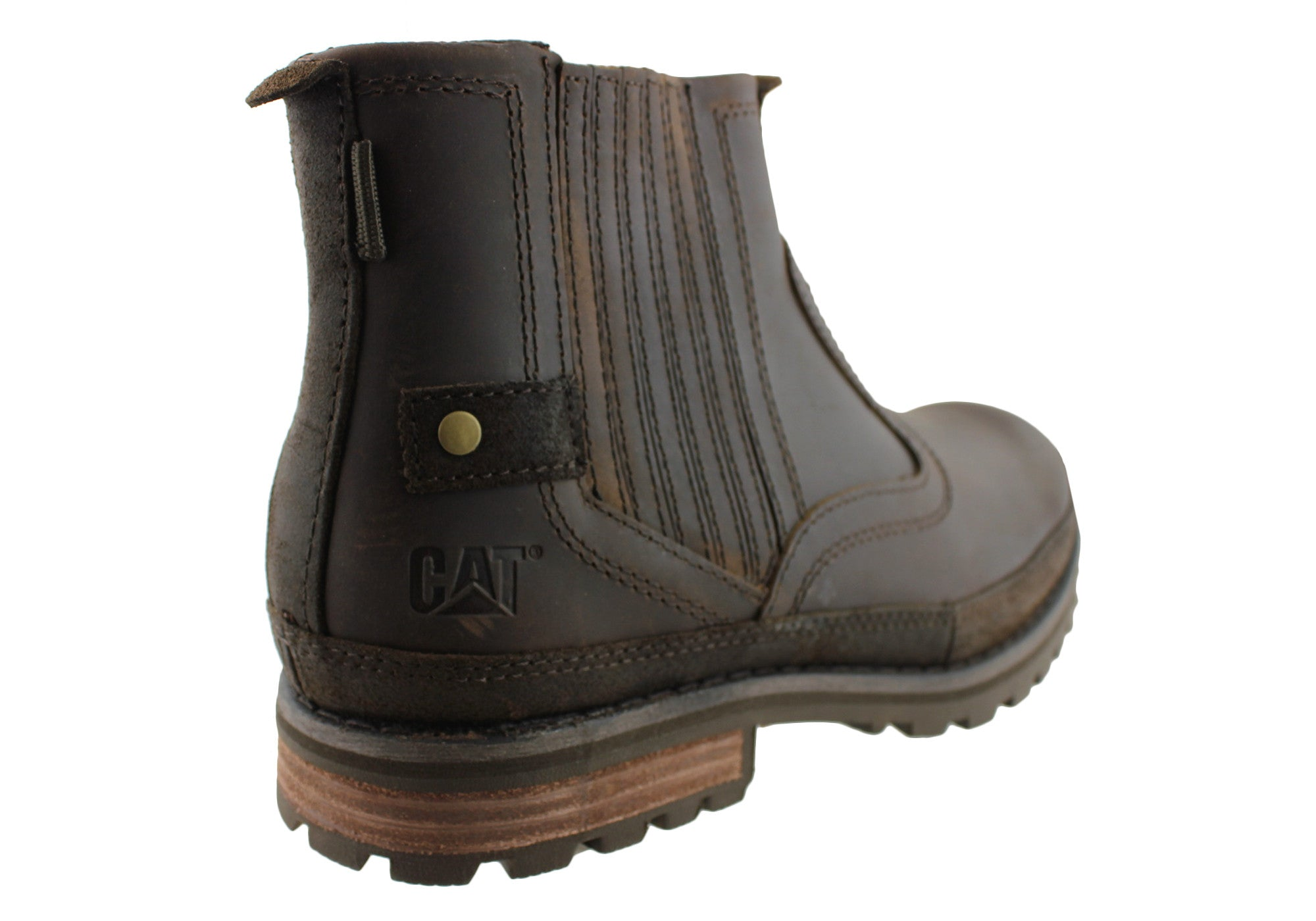 Caterpillar Rivingston Mens Outdoor Casual Boots (Wide Fit)