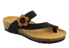 BioNatura Womens Leather Sandals Made in Italy