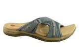 Planet Shoes Play Womens Leather Comfort Slides