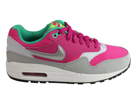Nike Air Max 1 (GS) Older Kids Girls Trainers Sport Shoes