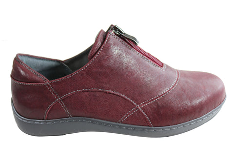 Scholl Orthaheel Wattle Womens Comfortable Leather Supportive Shoes