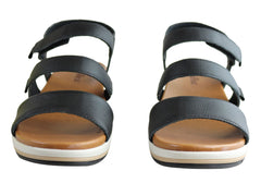 Usaflex Kosy Womens Comfortable Leather Sandals Made In Brazil