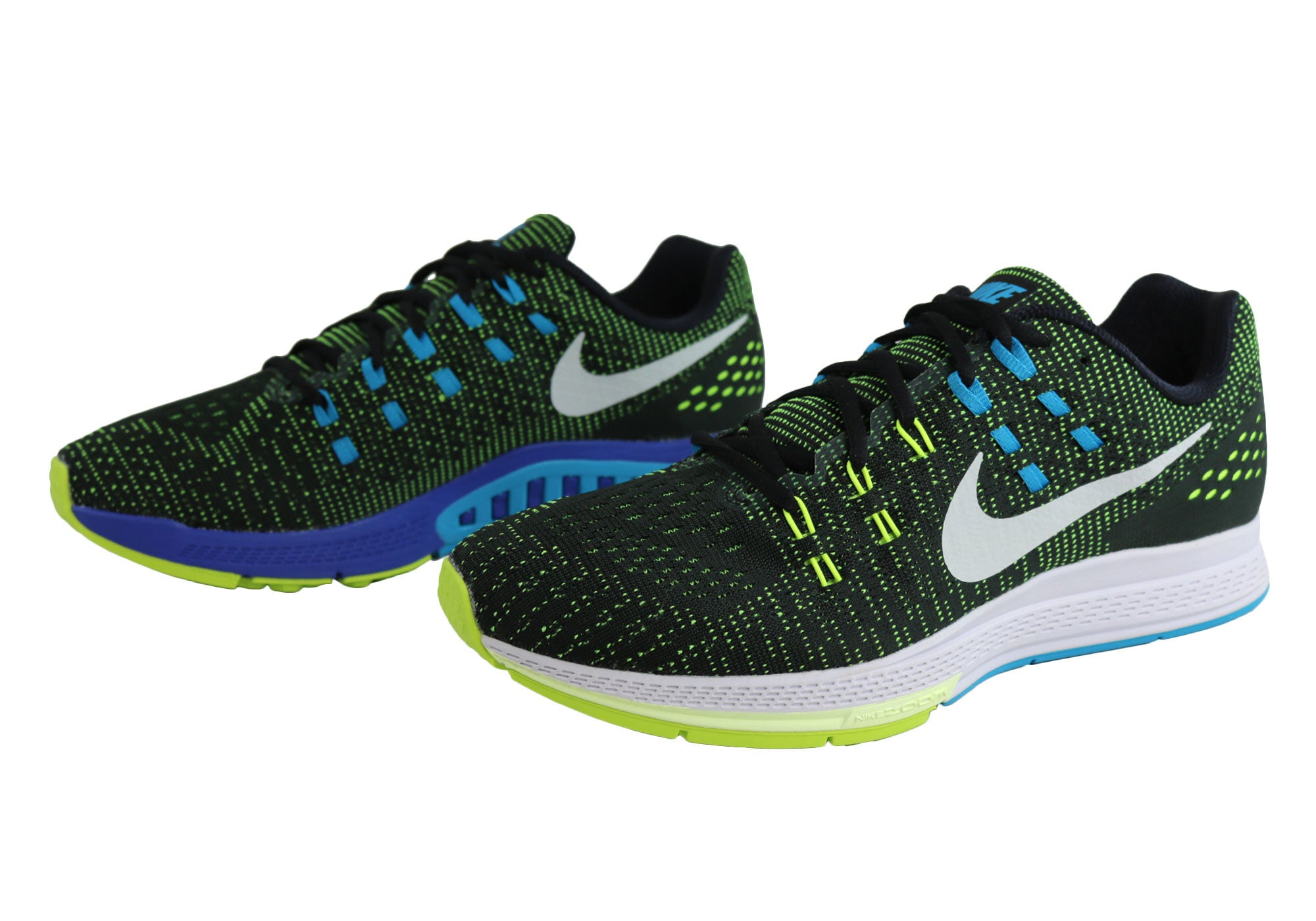 74cff2ca65a2a ... green strike volt 5dbd7 53788  shopping nike air zoom structure 19 mens  cushioned running sport shoes 72d67 5bbc0