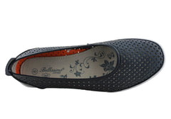 Bellissimo Ellie Womens Comfy Leather Ballet Flats/Shoes