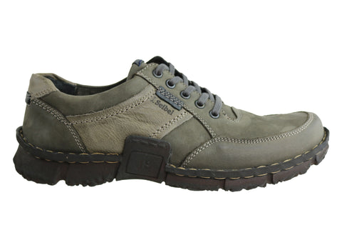 Josef Seibel Willow 22 Mens Leather Wide Fit Lace Up Comfort Shoes
