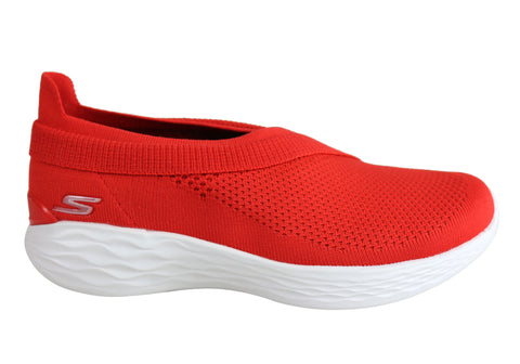 Skechers You Luxe Womens Comfortable Lightweight Casual Slip On Shoes